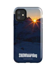TransWorld SNOWboarding Dark iPhone 11 Impact Case