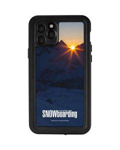 TransWorld SNOWboarding Dark iPhone 11 Pro Waterproof Case