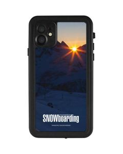 TransWorld SNOWboarding Dark iPhone 11 Waterproof Case