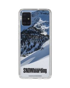 TransWorld SNOWboarding Galaxy A51 Clear Case