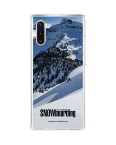 TransWorld SNOWboarding Galaxy Note 10 Clear Case