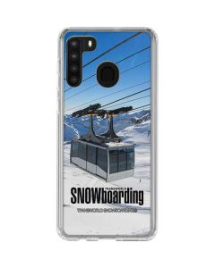TransWorld SNOWboarding Lift Galaxy A21 Clear Case
