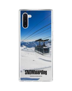 TransWorld SNOWboarding Lift Galaxy Note 10 Clear Case