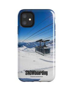 TransWorld SNOWboarding Lift iPhone 11 Impact Case