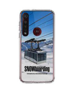 TransWorld SNOWboarding Lift Moto G8 Plus Clear Case