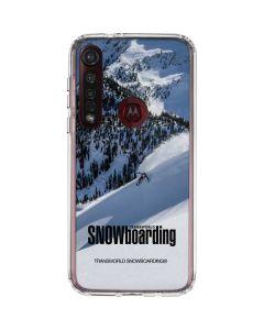 TransWorld SNOWboarding Moto G8 Plus Clear Case