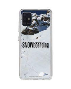 TransWorld SNOWboarding Mountain Galaxy A51 Clear Case