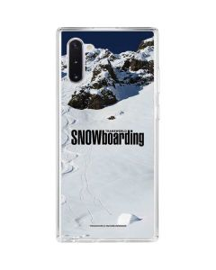TransWorld SNOWboarding Mountain Galaxy Note 10 Clear Case
