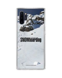 TransWorld SNOWboarding Mountain Galaxy Note 10 Plus Clear Case