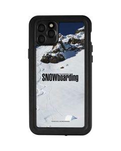TransWorld SNOWboarding Mountain iPhone 11 Pro Max Waterproof Case