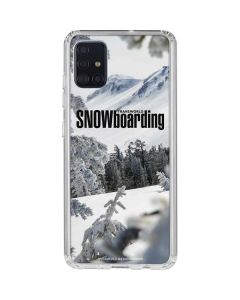 TransWorld SNOWboarding Peaking Galaxy A51 Clear Case