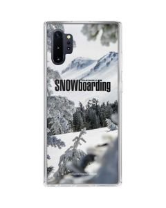 TransWorld SNOWboarding Peaking Galaxy Note 10 Plus Clear Case