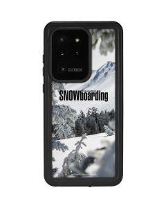 TransWorld SNOWboarding Peaking Galaxy S20 Ultra 5G Waterproof Case