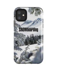 TransWorld SNOWboarding Peaking iPhone 11 Impact Case