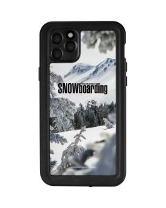 TransWorld SNOWboarding Peaking iPhone 11 Pro Max Waterproof Case