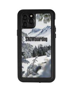 TransWorld SNOWboarding Peaking iPhone 11 Pro Waterproof Case