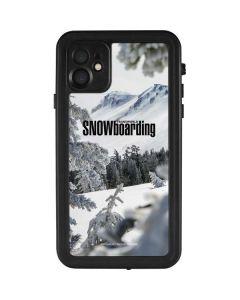TransWorld SNOWboarding Peaking iPhone 11 Waterproof Case