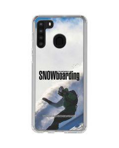 TransWorld SNOWboarding Rider Galaxy A21 Clear Case