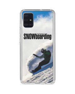 TransWorld SNOWboarding Rider Galaxy A51 Clear Case