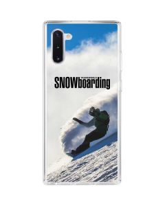 TransWorld SNOWboarding Rider Galaxy Note 10 Clear Case