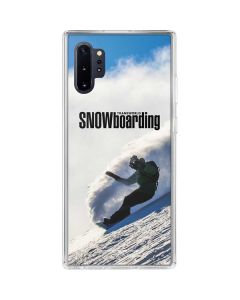 TransWorld SNOWboarding Rider Galaxy Note 10 Plus Clear Case