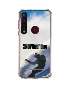 TransWorld SNOWboarding Rider Moto G8 Plus Clear Case