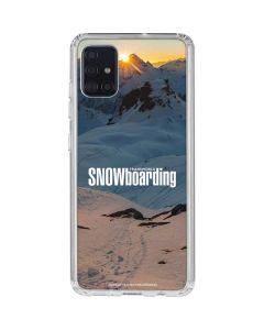 TransWorld SNOWboarding Shadows Galaxy A51 Clear Case