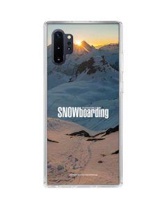 TransWorld SNOWboarding Shadows Galaxy Note 10 Plus Clear Case