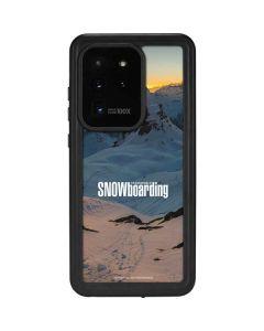 TransWorld SNOWboarding Shadows Galaxy S20 Ultra 5G Waterproof Case