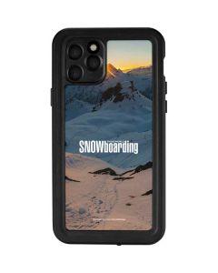 TransWorld SNOWboarding Shadows iPhone 11 Pro Waterproof Case