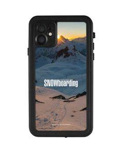 TransWorld SNOWboarding Shadows iPhone 11 Waterproof Case