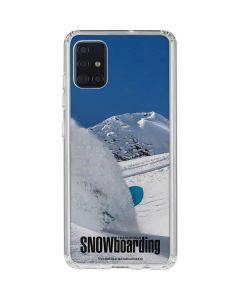 TransWorld SNOWboarding Shred Galaxy A51 Clear Case