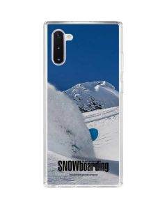 TransWorld SNOWboarding Shred Galaxy Note 10 Clear Case