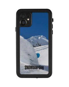 TransWorld SNOWboarding Shred iPhone 11 Waterproof Case