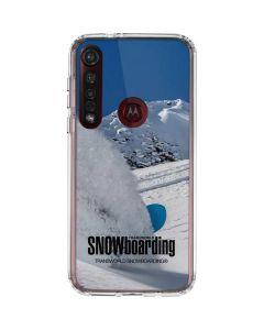 TransWorld SNOWboarding Shred Moto G8 Plus Clear Case