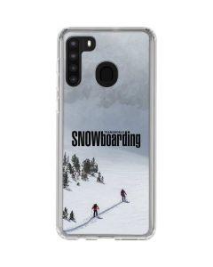 TransWorld SNOWboarding Snow Galaxy A21 Clear Case