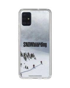 TransWorld SNOWboarding Snow Galaxy A51 Clear Case