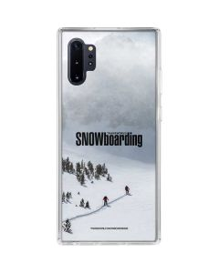 TransWorld SNOWboarding Snow Galaxy Note 10 Plus Clear Case