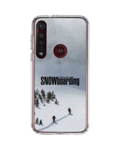TransWorld SNOWboarding Snow Moto G8 Plus Clear Case