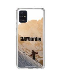 TransWorld SNOWboarding Sunset Galaxy A51 Clear Case
