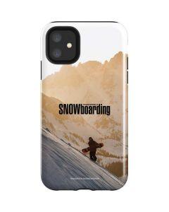 TransWorld SNOWboarding Sunset iPhone 11 Impact Case