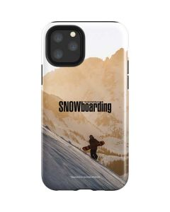 TransWorld SNOWboarding Sunset iPhone 11 Pro Impact Case