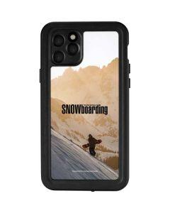 TransWorld SNOWboarding Sunset iPhone 11 Pro Waterproof Case