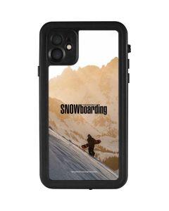 TransWorld SNOWboarding Sunset iPhone 11 Waterproof Case