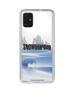 TransWorld SNOWboarding Trees Galaxy A51 Clear Case