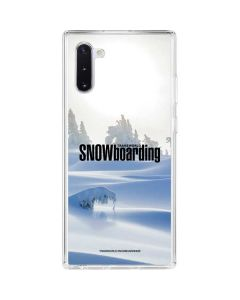 TransWorld SNOWboarding Trees Galaxy Note 10 Clear Case