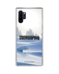 TransWorld SNOWboarding Trees Galaxy Note 10 Plus Clear Case