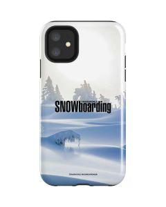 TransWorld SNOWboarding Trees iPhone 11 Impact Case