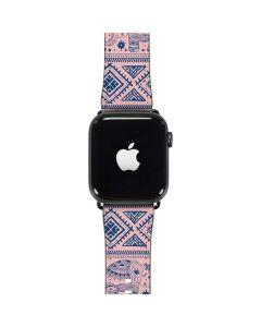 Tribal Elephant Pink Apple Watch Band 38-40mm