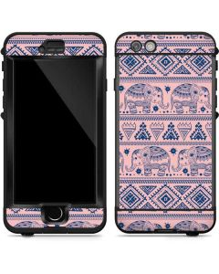Tribal Elephant Pink LifeProof Nuud iPhone Skin